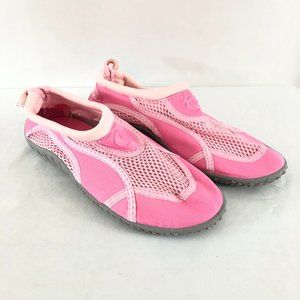 Fantiny Girls Water Shoes Fabric Mesh Drawstring